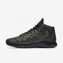 Jordan Ultra.Fly Black/Dark Grey/Metallic Hematite Mens Basketball Shoes