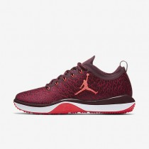Nike Air Jordan Trainer 1 Low Night Maroon/Gym Red/White/Infrared 23 Mens Training Shoes