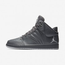 Jordan 1 Flight 4 Dark Grey/Reflect Silver/Wolf Grey Mens Shoes