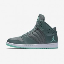 Jordan 1 Flight 4 Hasta/White/Hyper Turquoise/Hyper Turquoise Mens Shoes