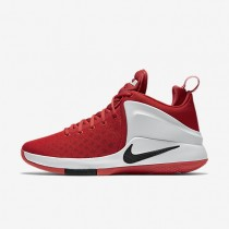 Nike Zoom Air Witness University Red/White/Bright Crimson/Black Mens Basketball Shoes