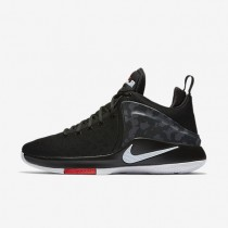 Nike Zoom Air Witness Black/Anthracite/University Red/Black Mens Basketball Shoes