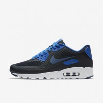 Nike Air Max 90 Ultra Essential Dark Obsidian/Hyper Cobalt/White/Ocean Fog Mens Shoes