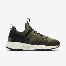 Nike Air Huarache Utility Trooper/Cargo Khaki/Black/Sail Mens Shoes