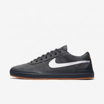 Nike SB Bruin Hyperfeel XT Anthracite/Clay Orange/White Mens Skateboarding Shoes