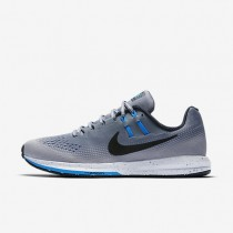 Nike Air Zoom Structure 20 Shield Cool Grey/Wolf Grey/Blue Glow/Black Mens Running Shoes