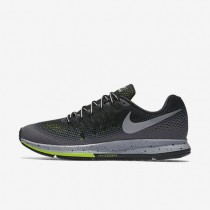 Nike Air Zoom Pegasus 33 Shield Black/Dark Grey/Stealth/Metallic Silver Mens Running Shoes