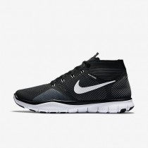 Nike Free Train Instinct Black/Dark Grey/White Mens Training Shoes