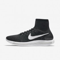 Nike LunarEpic Flyknit Black/White/Anthracite Mens Running Shoes