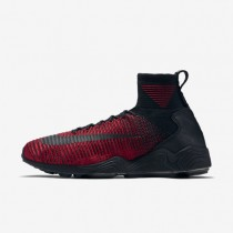 Nike Zoom Mercurial Flyknit University Red/Team Red/Metallic Gold/Black Mens Shoes