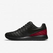 Nike Roshe Tiempo VI FC Black/Team Red/Metallic Gold/Black Mens Shoes