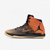Nike Air Jordan XXXI Black/Starfish/Black Mens Basketball Shoes