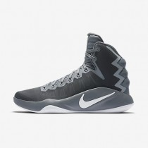 Nike Hyperdunk 2016 Cool Grey/Wolf Grey/White Mens Basketball Shoes