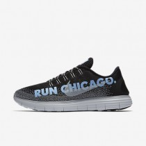 Nike Free RN Distance LE (Chicago 2016) Black/Bluecap/Anthracite/White Mens Running Shoes