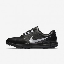Nike Explorer Lea Black/Cool Grey/Metallic Silver Mens Golf Shoes