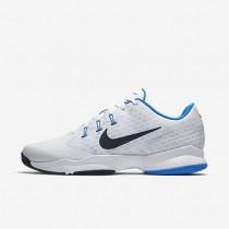 Nike Court Air Zoom Ultra White/Photo Blue/Obsidian Mens Tennis Shoes