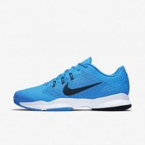 Nike Court Air Zoom Ultra Blue Glow/White/Black Mens Tennis Shoes