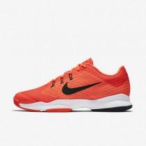Nike Court Air Zoom Ultra Total Crimson/White/Black Mens Tennis Shoes