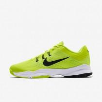 Nike Court Air Zoom Ultra Volt/White/Black Mens Tennis Shoes