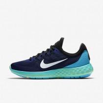 Nike Lunar Skyelux Loyal Blue/Black/Green Glow/White Mens Running Shoes