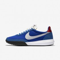 Nike Roshe Waffle Racer NM Hyper Cobalt/University Red/White/White Mens Shoes