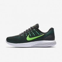 Nike LunarGlide 8 Anthracite/Green Stone/Black/Rage Green Mens Running Shoes