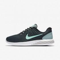 Nike LunarGlide 8 Cannon/Black/Hasta/Green Glow Mens Running Shoes