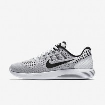 Nike LunarGlide 8 White/Wolf Grey/Black Mens Running Shoes