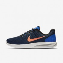 Nike LunarGlide 8 Hyper Cobalt/Black/Loyal Blue/Bright Mango Mens Running Shoes