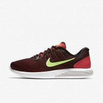 Nike LunarGlide 8 Ember Glow/Black/University Red/Ghost Green Mens Running Shoes
