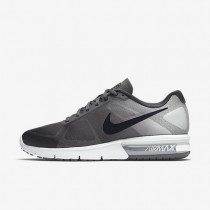 Nike Air Max Sequent Dark Grey/Pure Platinum/Metallic Platinum/Black Mens Running Shoes