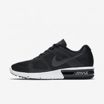 Nike Air Max Sequent Black/Wolf Grey/White/Metallic Hematite Mens Running Shoes
