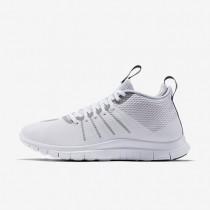 Nike Free Hypervenom 2 FS White/Pure Platinum/Metallic Silver Mens Shoes
