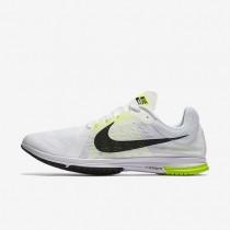 Nike Zoom Streak LT 3 White/Black/Volt unisex Running Shoes