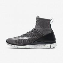 Nike Free Mercurial Superfly Dark Grey/Black/Summit White/Silver Mens Shoes