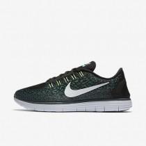 Nike Free RN Distance Black/Jade Glaze/Hasta/Pure Platinum Mens Running Shoes