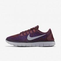 Nike Free RN Distance Night Maroon/Fierce Purple/Black/Wolf Grey Mens Running Shoes