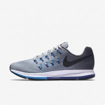 Nike Air Zoom Pegasus 33 Wolf Grey/Blue Glow/Concord/Black Mens Running Shoes