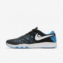 Nike Train Speed 4 Black/White/Blue Glow Mens Training Shoes