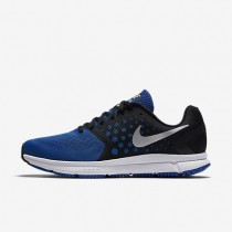 Nike Air Zoom Span Black/Hyper Cobalt/Light Blue/Metallic Silver Mens Running Shoes