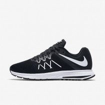Nike Zoom Winflo 3 Black/Anthracite/White Mens Running Shoes