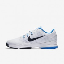 Nike Court Air Zoom Ultra Clay White/Photo Blue/Obsidian Mens Tennis Shoes
