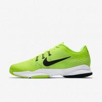 Nike Court Air Zoom Ultra Clay Volt/White/Black Mens Tennis Shoes