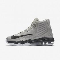 Nike Air Max Audacity 2016 Light Iron Ore/White/Anthracite/Black Mens Basketball Shoes