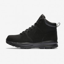 Nike Manoa Black/Total Orange/Black Mens boot Shoes