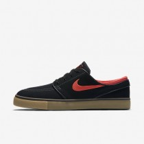 Nike SB Zoom Stefan Janoski Canvas Black/Dark Grey/Gum Light Brown/Ember Glow Mens Skateboarding Shoes