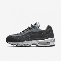 Nike Air Max 95 Premium Wolf Grey/Cool Grey/Black/Anthracite Mens Shoes