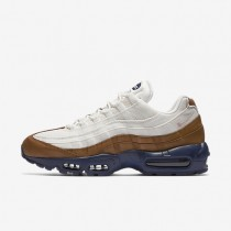 Nike Air Max 95 Premium Ale Brown/Midnight Navy/Sail/Pearl Pink Mens Shoes