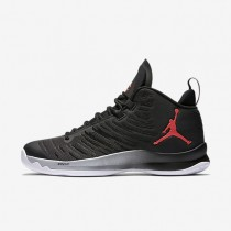 Jordan Super.Fly 5 Black/Wolf Grey/Wolf Grey/Infrared 23 Mens Basketball Shoes