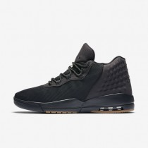 Jordan Academy Black/Gum Medium Brown/Anthracite Mens Shoes